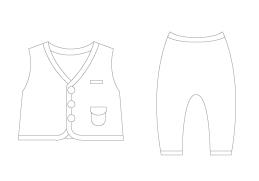 外著,背心,嬰兒褲,品牌,有機棉,寶寶,服飾,配件