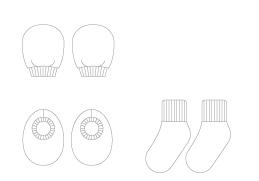 手套,寶寶襪,襪子,品牌,有機棉,寶寶,服飾,配件