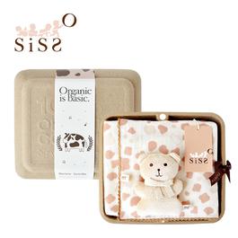 【SISSO有機棉】巧克力牛奶紗布萬用巾禮盒 F