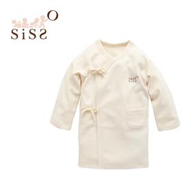 【SISSO有機棉】有機棉反袖肚衣(厚) 3M 6M