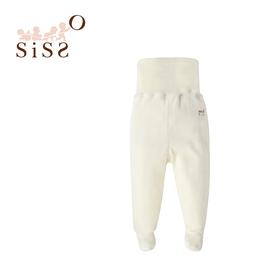 【SISSO有機棉】有機棉絨包肚連腳褲 3M 6M