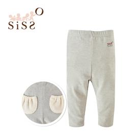 【SISSO有機棉】竹炭紗好好穿彈性長褲 SML
