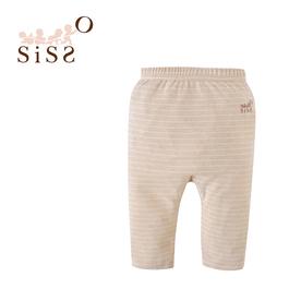 【SISSO有機棉】輕柔吸濕保暖嬰兒褲 3M 6M 12M