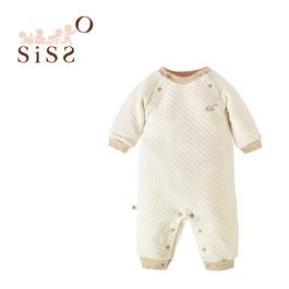 【SISSO有機棉】陽光空氣棉長袖連身兔裝 3M 6M