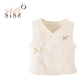 【SISSO有機棉】陽光空氣棉嬰兒暖暖背心 F