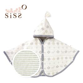 【SISSO有機棉】小雪花陽光空氣棉披風