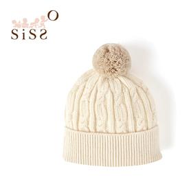 【SISSO有機棉】親愛寶寶麻花編織帽F