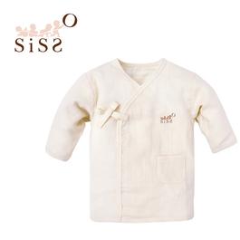 【SISSO有機棉】有機棉二重織舒棉紗布衣 3M