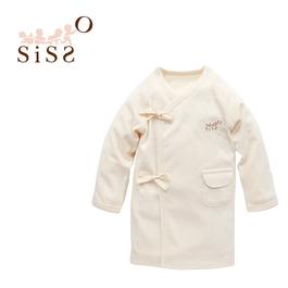 【SISSO有機棉】四季柔棉反袖嬰兒肚衣 3M 6M
