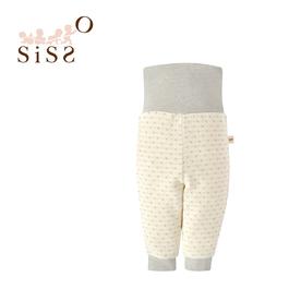 【SISSO有機棉】小鹿灰米二重織包肚褲 3M 6M