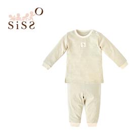 【SISSO有機棉】柔條居家套裝(綠條) 2A 3A