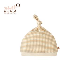 【SISSO有機棉】經典格格小樹嬰兒帽 F