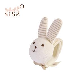 【SISSO有機棉】米米兔腕帶鈴鐺 F