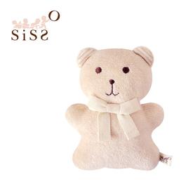 【SISSO有機棉】彩棉咖咖熊磨牙布偶