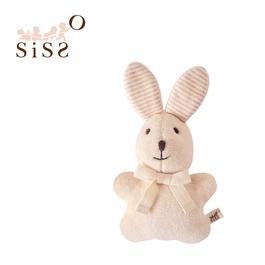 【SISSO有機棉】彩棉咖咖兔磨牙布偶