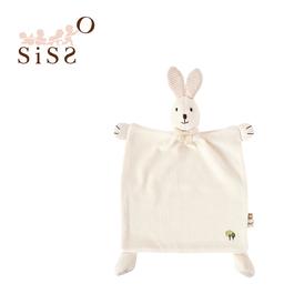 【SISSO有機棉】有機米米兔安撫手帕巾