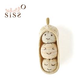 【SISSO有機棉】花生寶寶顆顆布偶