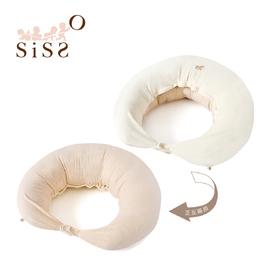【SISSO有機棉】有機棉好舒服多功能授乳枕 F
