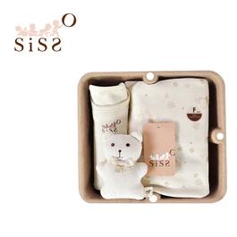 【SISSO有機棉】小葉子飄飄萬用毯禮盒