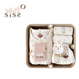 【SISSO有機棉】送你一朵小花蝴蝶裝禮盒 3M 6M