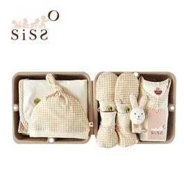 【SISSO有機棉】經典格格小樹長大大禮盒(手腕兔)3M
