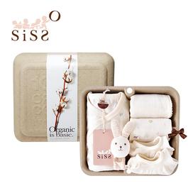 【SISSO有機棉】送你一朵小花蝴蝶裝襪襪禮盒 3M 6M