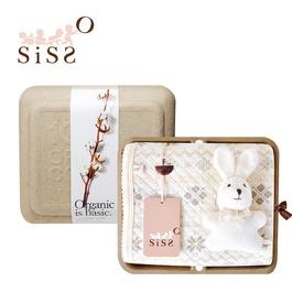【SISSO有機棉】小雪花空氣棉萬用毯禮盒 F