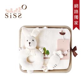 【SISSO有機棉】66折↘好朋友洗澎澎紗布浴巾禮盒 F