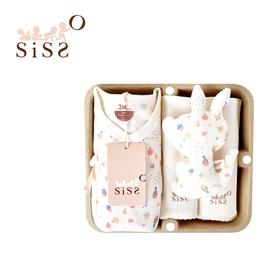 【SISSO有機棉】擁抱康格魯紗布蝴蝶裝禮盒 3M 6M