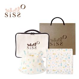 【SISSO有機棉】好涼涼出遊收納禮物包 F XL