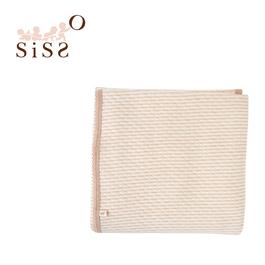【SISSO有機棉】咖條空氣棉萬用毯