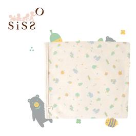 【SISSO有機棉】森林小灰熊萊賽爾棉多用途萬用巾