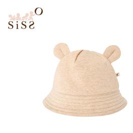【SISSO有機棉】彩棉QQ小熊帽 F