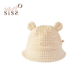 【SISSO有機棉】經典格格QQ小熊帽 F