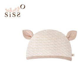 【SISSO有機棉】小松鼠空氣棉嬰兒帽 F