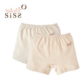 【SISSO有機棉】彩棉居家小短褲(條紋) M L XL